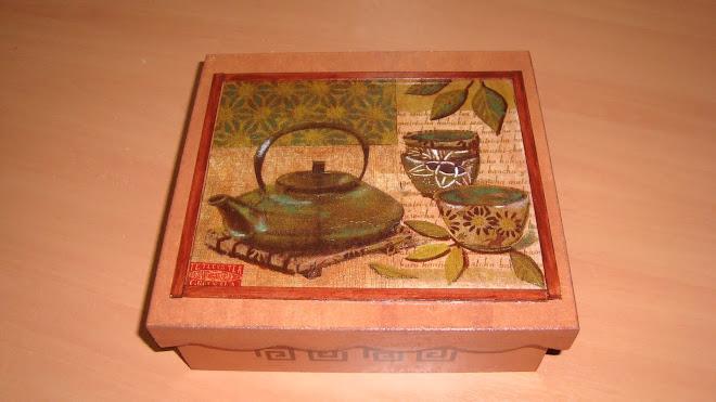 Caja para el te