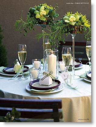 Wedding Preparation: Wedding Reception Table Decoration Ideas