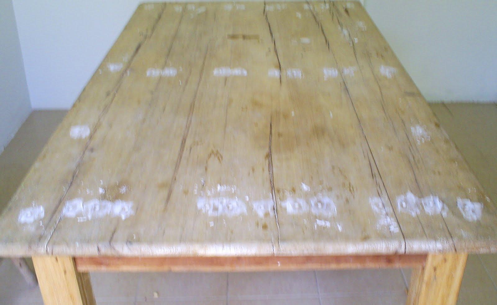 Arte & Design : Mesa em madeira patinada #854F39 1600x981