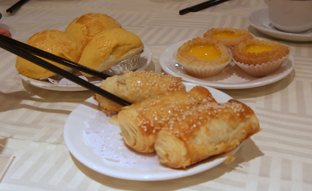 Flaky pork rolls at King Hua in Alhambra. Photo by Eating L.A.