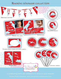 dinosaur party prinatbles, dinosaur birthday collection