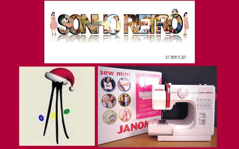 Quer ganhar uma máquina de costura nesse Natal?