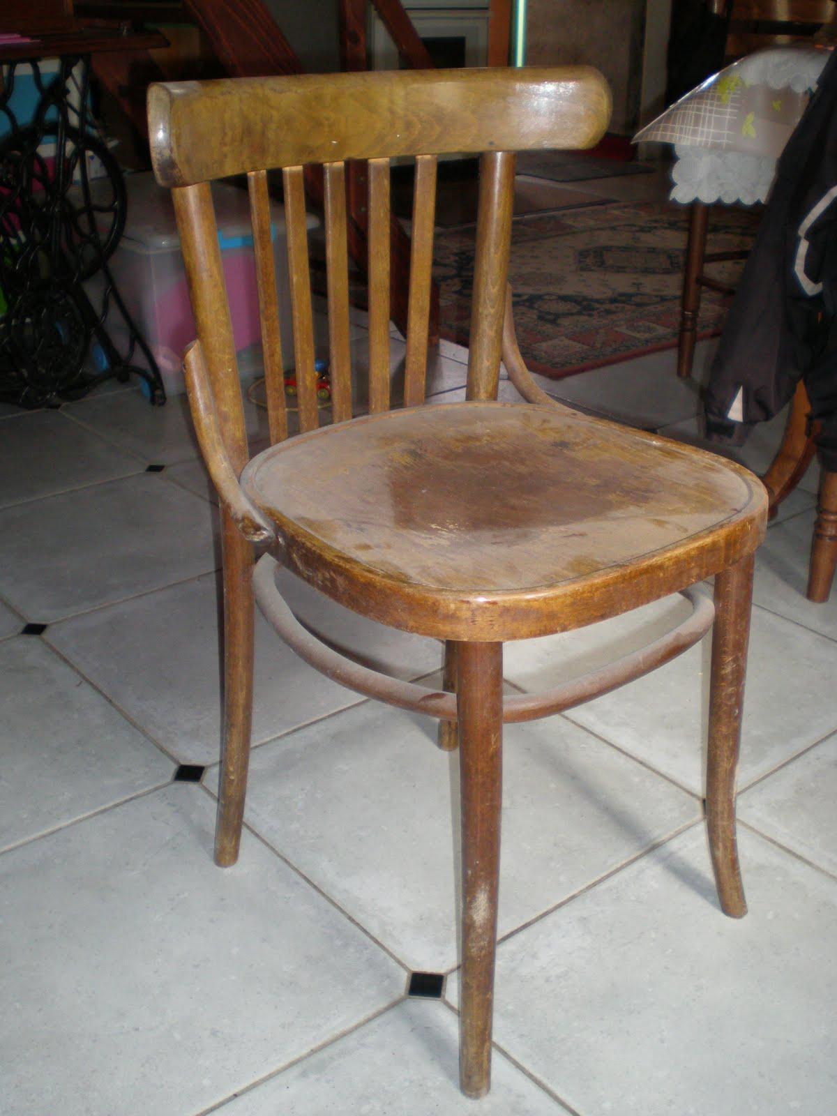 Morgane Caradec Restauration Chaise Bistrot