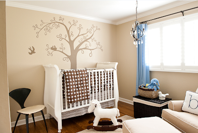 Design Decorate: Bird Theme Nursery Design and Decorating Ideas