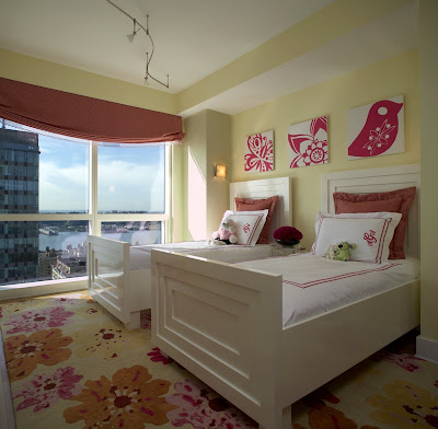 Designer Bedrooms on The Floral Rug In This Sweet Contemporary Bedroom By Ny Designer