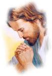 Jesús orando...