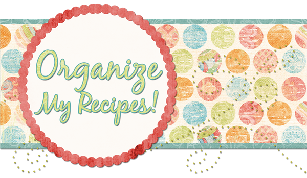 Organize My Recipes!