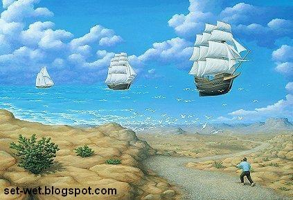 sea paintings wallpapers