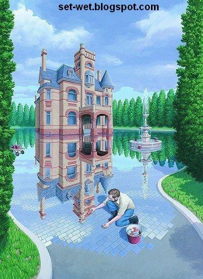 water paintings wallpapers