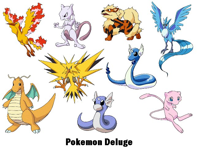 Pokemon deluge