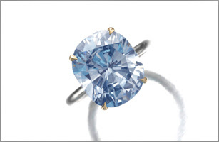 Sotheby's blue diamonds set another color record