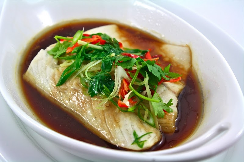 Steamed fish with soy sauce for Soy sauce fish
