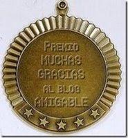 Premio de mi amiga Soledad