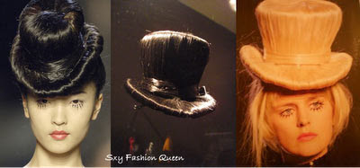 Hats made of natural hair Seen On coolpicturegallery.blogspot.com