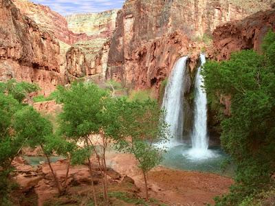 Beautiful Waterfall Seen On www.coolpicturegallery.net