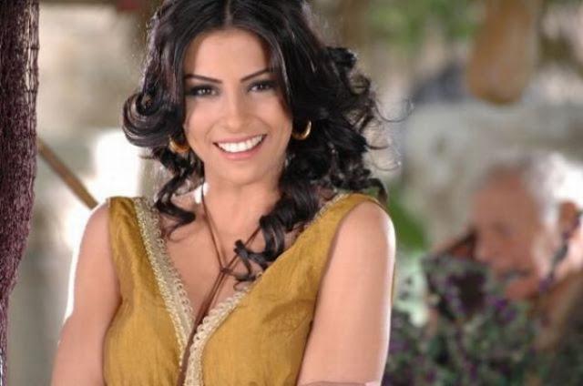 32. Nadine Aghnatios, TV presenter from Lebanon .