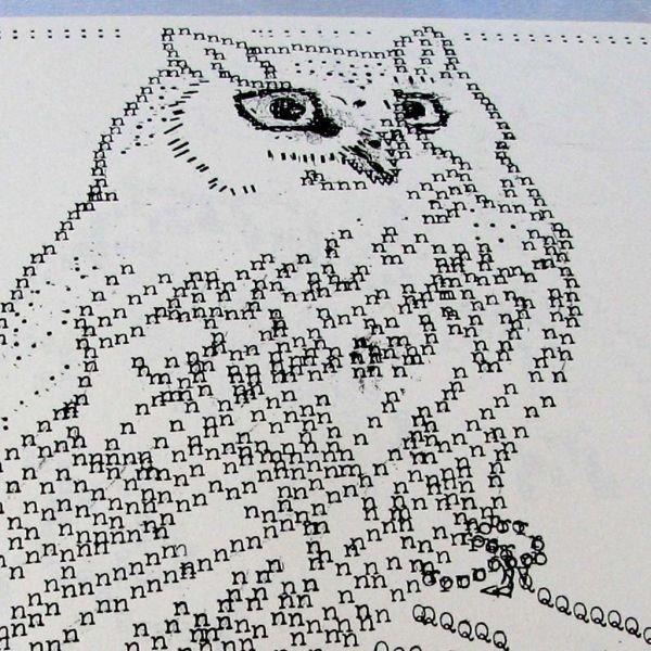 27 Unbelievable Typewriter Ascii Art Funny