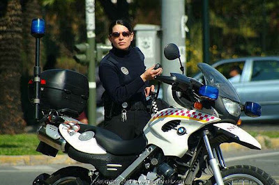 beautiful female police officers