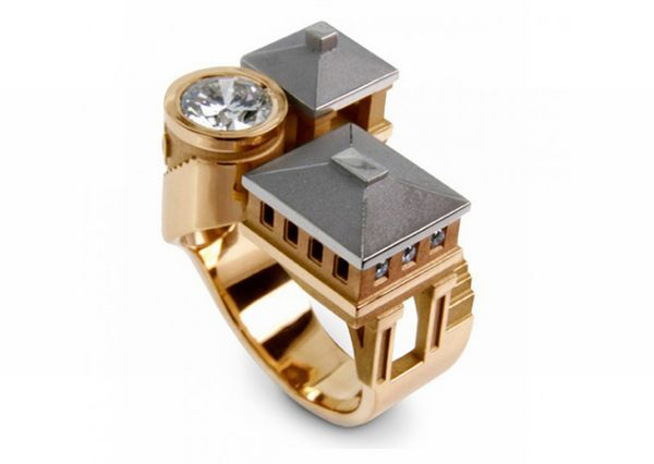 architectural ring 10 - Beautiful Architectural ring