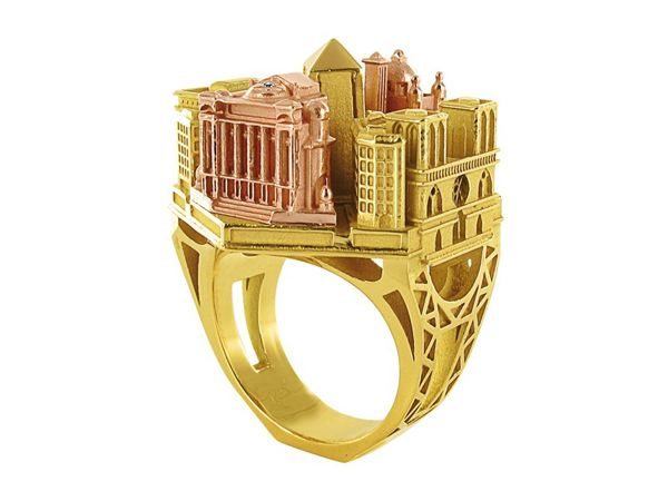 architectural ring 01 - Beautiful Architectural ring