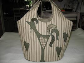 Väska med tupp