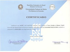 Certificado a Máscara Teatral