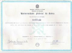 Certificado Teatro Esporte