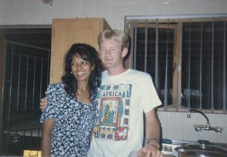 Celeste and David in Athlone, Cape Town