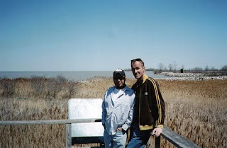 Roger and Charles, Maumee Bay