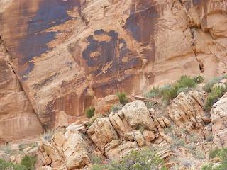 Lizard Petroglyphs at DNM