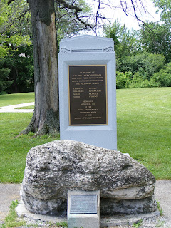 Turkey Foot Rock and Indian Monument