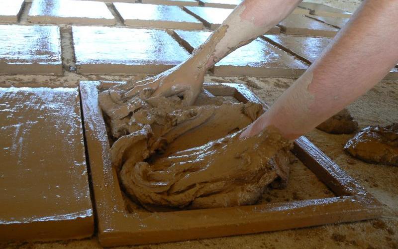 Proceso de fabricaci n de la baldosa hidr ulica o mosaico for Ceramica fabricacion
