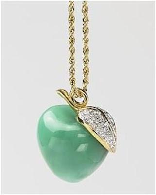 Apple charm pendant necklaces love maegan elsa peretti apple pendant 185 kenneth jay lane unknown aloadofball Gallery