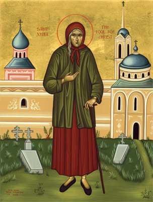 Akathist to St. Ksenia (Xenia) of St. Petersburg
