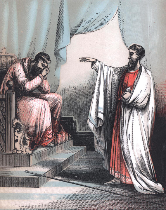 What Prophet Confronted David About His Sin With Bathsheba