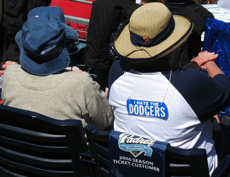 'I hate the Dodgers'; click for previous post
