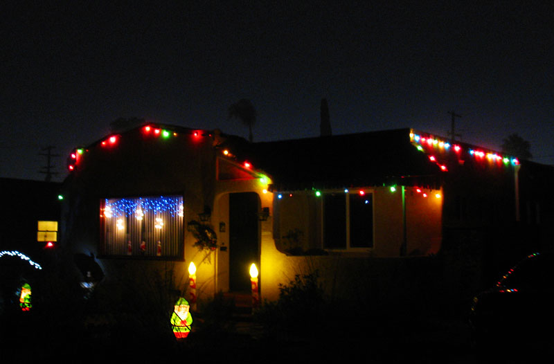 Christmas lights in North Park; click for previous post