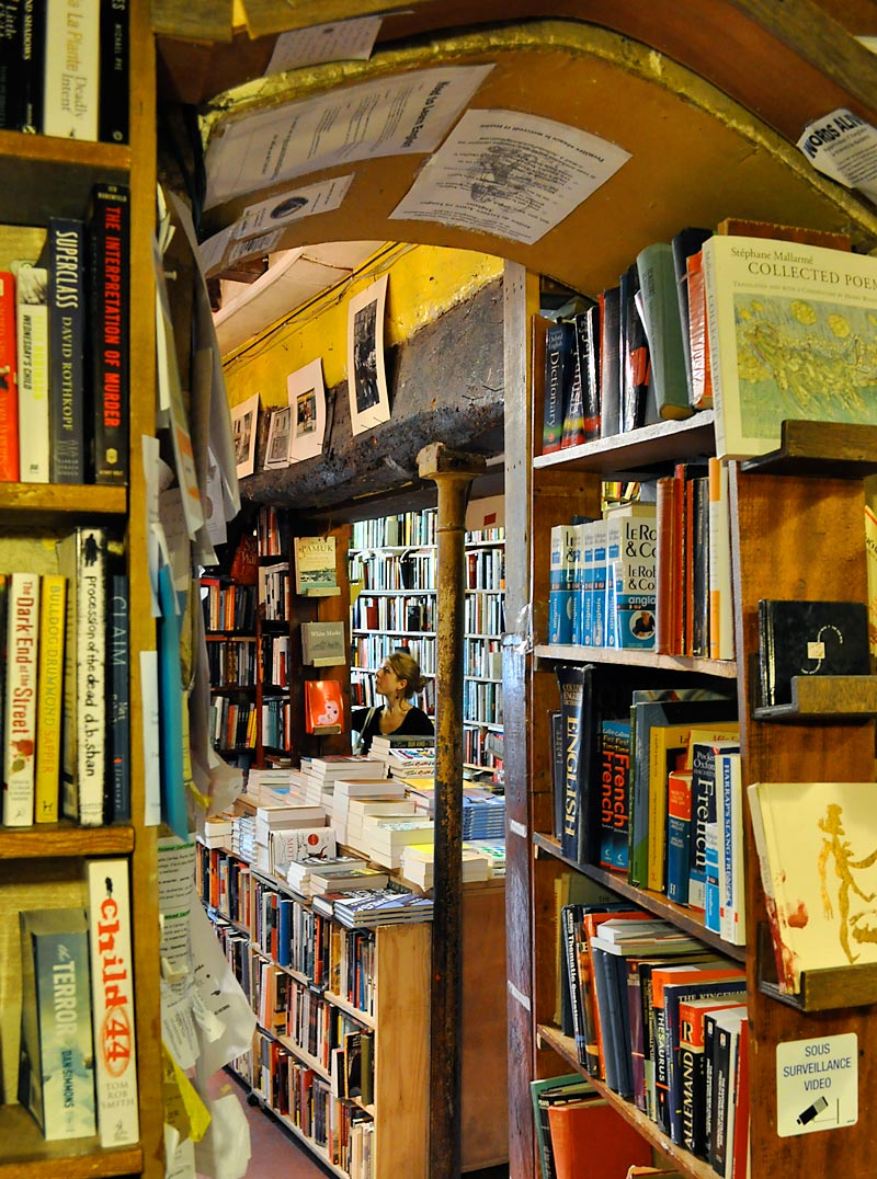 Shakespeare and Company; click for previous post