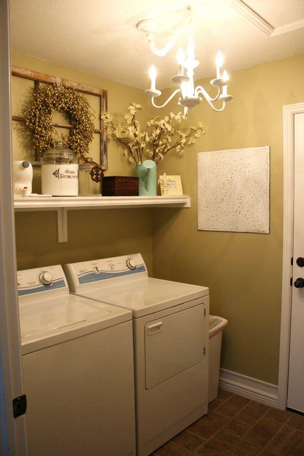 Laundry Room Redo Classy Clutter