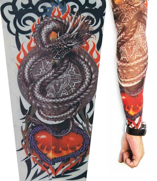 Dragon Tattoo Sleeve