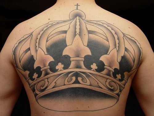 Crown Tattoo Design Full Body