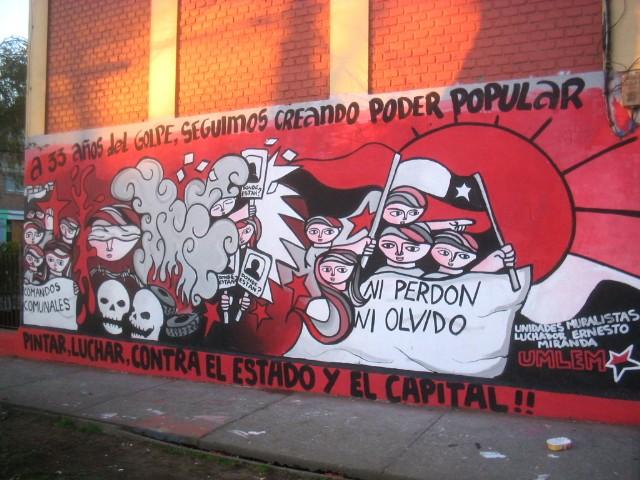 Evoluci n del muralismo chileno for Mural metro u de chile
