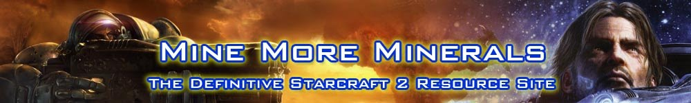 Mine More Minerals : The Definitive Starcraft 2 Resource Site