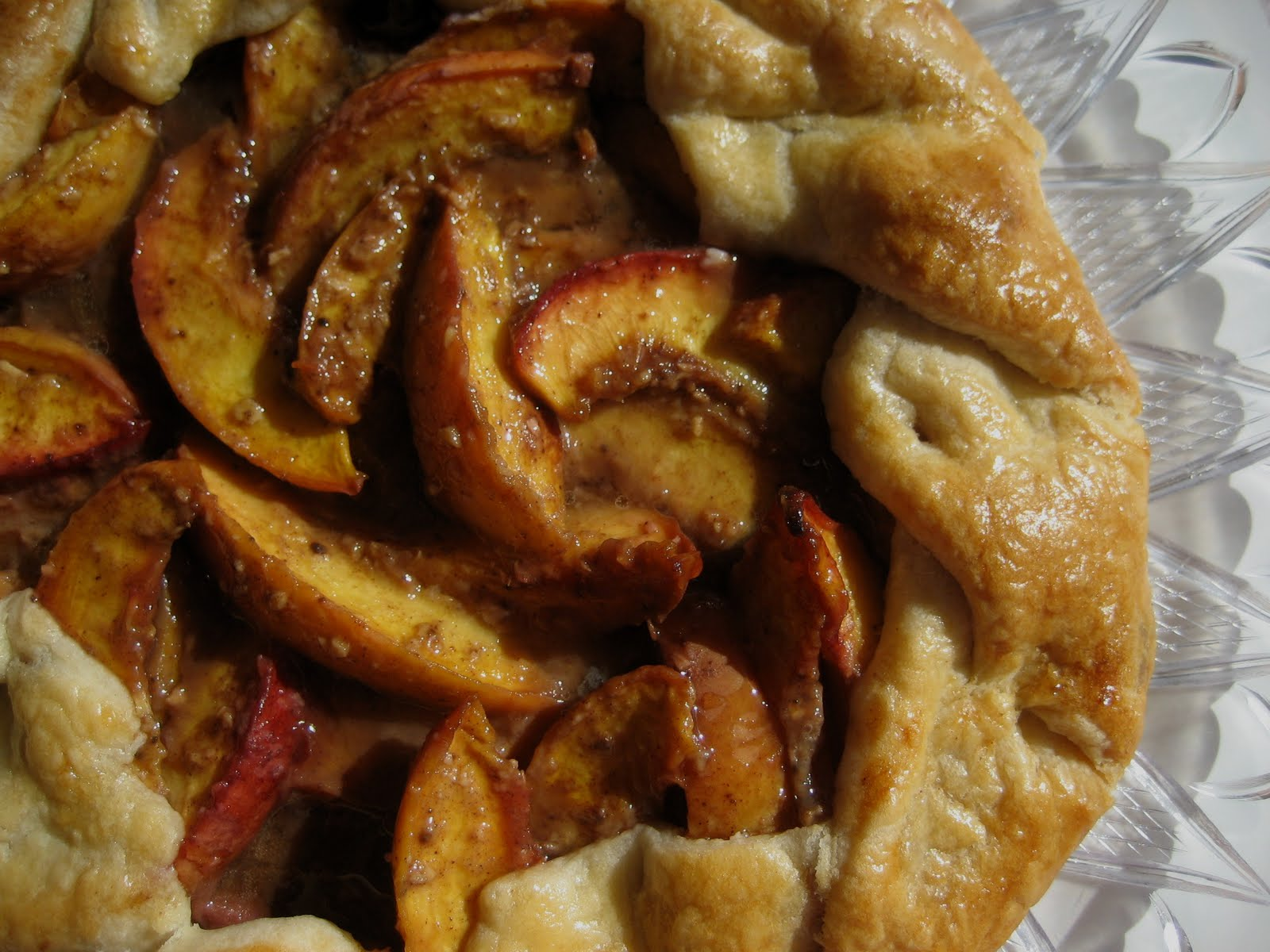 Mission: Food: Asian-Spiced Fresh Peach Crostata
