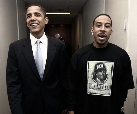 ludacris and obama