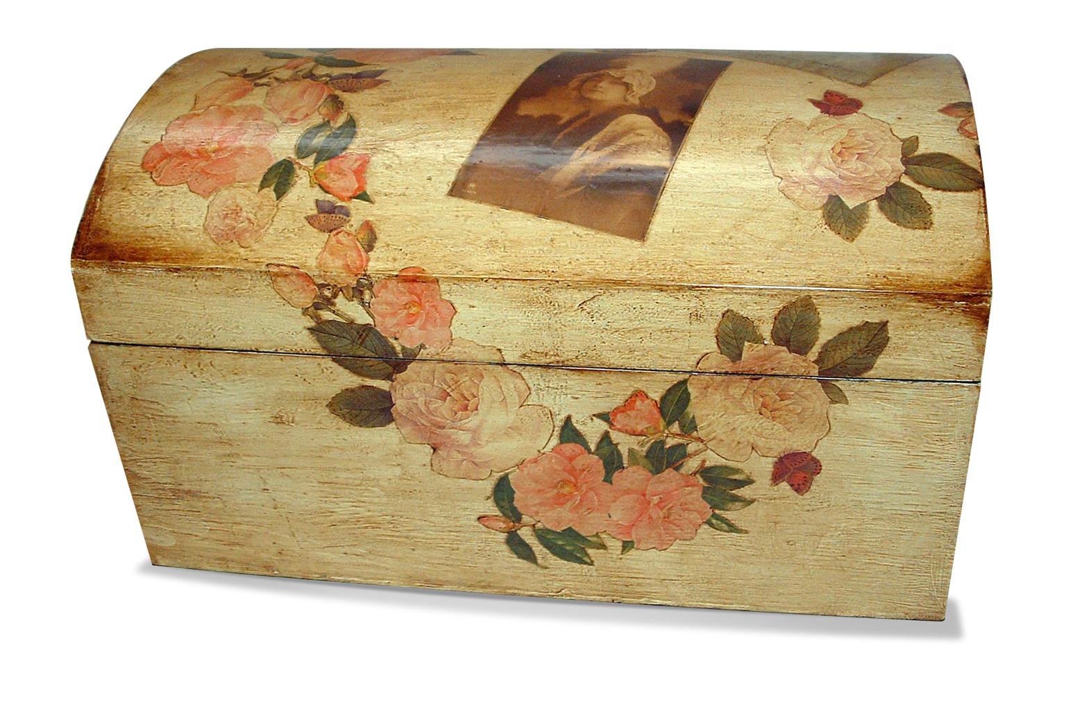 Le civette di luigi - Decoupage su mobili ...