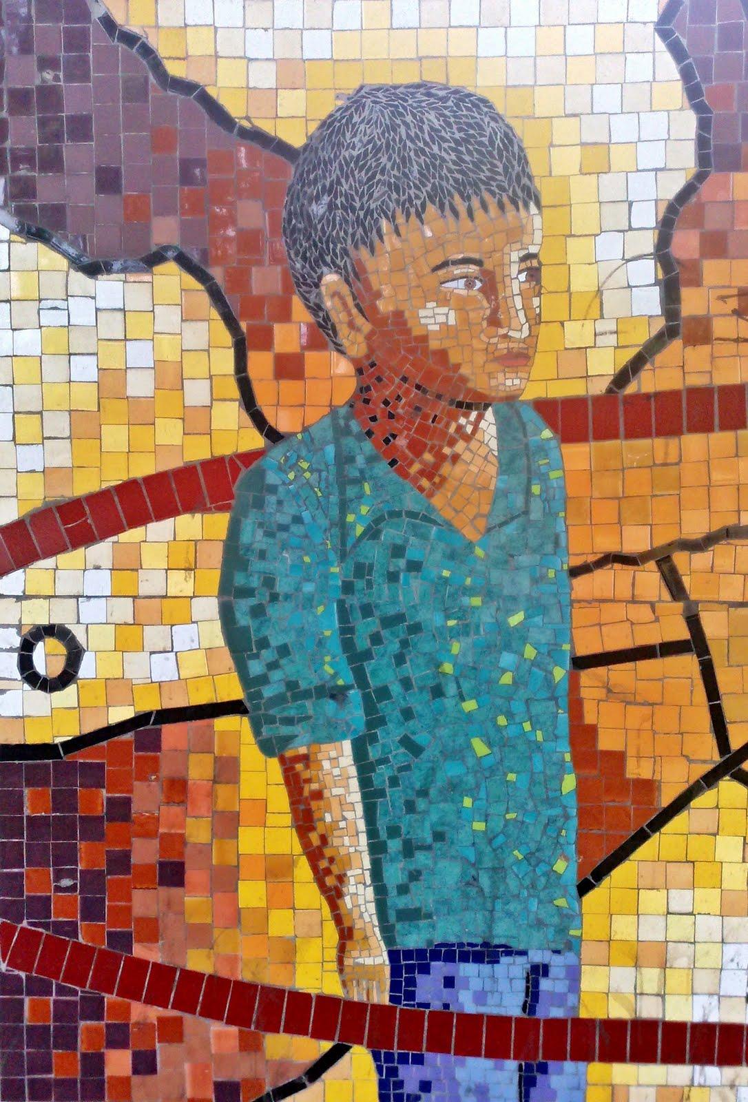 Kambiaespacios mosaico en cer mica for Mosaico ceramica