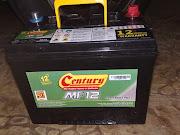 Bateri Kereta CENTURY MF12 (Maintenance Free) baru for SALE!