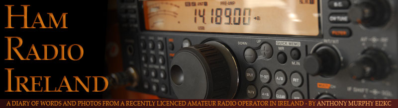 Ham Radio Ireland - the diary of a recently licenced Irish radio amateur ...