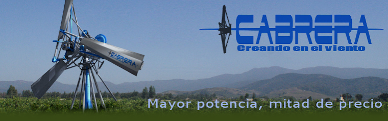 Aerogeneradores Cabrera